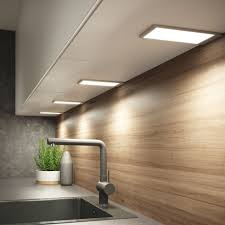 kitchen cabinet lighting uk sensio pad2 cabinet lights contain an innovative diffuser