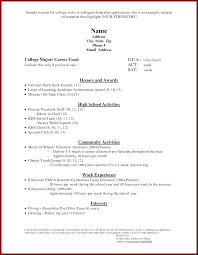Ballet Resume Sample by Plush Design Ideas Resume For Scholarship 14 Examples Of Resumes