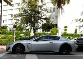 black maserati cars silver gray maserati granturismo sport with black rims exotic