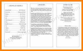 funeral program wording 6 exle of funeral program wording bike friendly