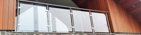 professional glass balustrade systems external u0026 internal use