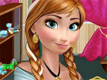 anna from frozen hairstyle anna games