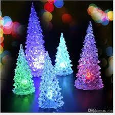 Pre Lit Mini Christmas Tree - manificent design light up christmas tree homcom 7 5 artificial