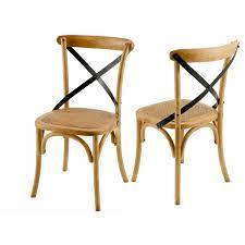chaise bistrot l p h 45 x 53 x 89 cm hauteur d assise 46cm zago store