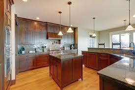 kitchen granite countertops dark cabinets antique brass drawer