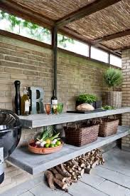 Designing An Outdoor Kitchen 20 Beautiful Outdoor Kitchen Ideas Black Cabinet Kitchens And