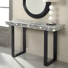 Black Console Table White Black Shelf Console Table Products Bookmarks Design