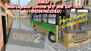 omsi 2 marcopolo torino gv mb of 1620 download youtube