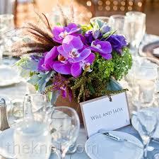 orchid centerpieces purple orchid centerpieces