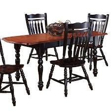 shop sunset trading sunset selections cherry antique black sunset trading sunset selections cherry antique black rectangular dining table