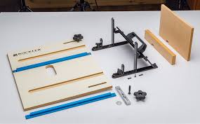 Finger Joints Wood Router by Rockler Introduces Router Table Jig For Heavy Duty Box Joints