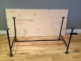 Pipe Desk Diy Diy Pipe Wood Table Pt 1 Storefront