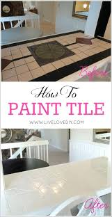 How To Paint Bathroom Bathroom Paint Tiles V2painting Floor Before And After Diy