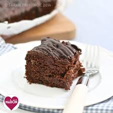 Five Minute No Butter Chocolate Cherry Cake Whitworths Maison
