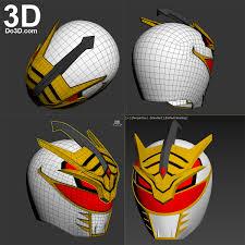 3d printable model lord drakkon mysterious white power ranger