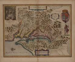 Jamestown Virginia Map A U201cnew Map Of Virginia U201d With Images Of Powhatan 1633 Or 1636