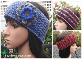 crochet headband wildly warm crochet headband allfreecrochet