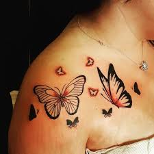 butterfly meaning and symbolism butterfly shoulder