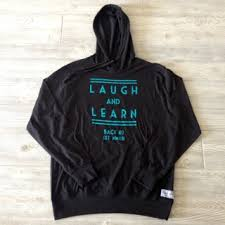laugh and learn lightweight hoodie u2014 back 40 apparel