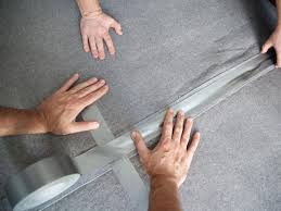 Duck Hold It For Rugs Tape How To Make One Large Custom Area Rug From Several Small Ones Hgtv