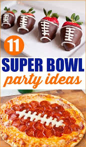Nfl Decorations Super Bowl Party Ideas Super Bowl Party Food Ideas And Bowls
