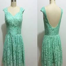 lace tiffany blue bridesmaid dress long from dresssupermaker on