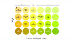 shades of red names color theory warm yellow vs cool yellow u2013 jen thoden