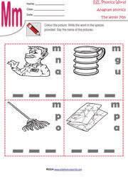 printable anagram worksheets word scramble kindergarten phonics