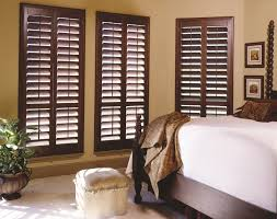 decorating plantation shutters interior with hunter douglas