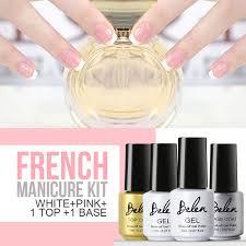 aliexpress com buy belen 7ml gel nail polish french manicure