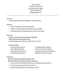 Free Resume Templates For Teachers To Download Good Teachers Resume Format