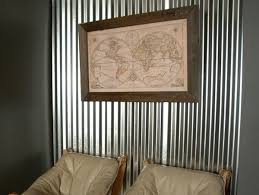 Interior Corrugated Metal Wall Panels Corrugated Metal In Interior Design U2013 Creative Ideas For Home Decors
