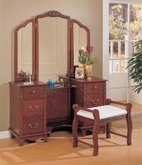 Antique Bedroom Vanity Stunning Antique Bedroom Vanity With Mirror Contemporary Trends
