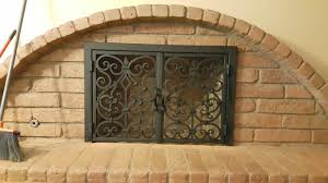 fireplace doors meti iron works iron entry doors fences