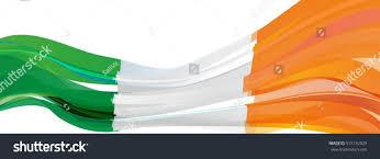 Flag Of Ireland Green White Orange Flag Ireland Stock Illustration 515132029