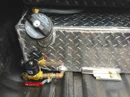 Ford Diesel Truck Fuel Tanks - rds auxiliary tank install ford truck enthusiasts forums