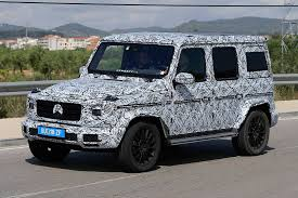 used mercedes g wagon new generation mercedes benz g class the spy shots gtspirit