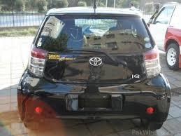 toyota iq car price in pakistan toyota iq 2008 09 for sale black cars pakwheels forums