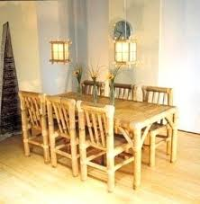 bamboo dining room table bamboo dining table set simple living tree in the world places