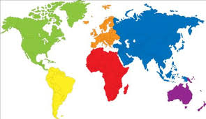 map vector simple color world map vector 02 vector maps free