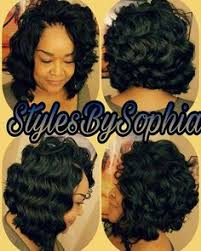 crochet black weave hair crochet braids bob hair is ocean wave by kima this is so pretty