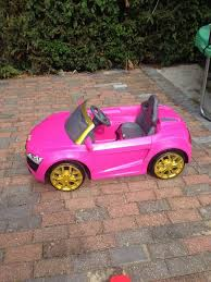 pink audi r8 pink audi r8 spyder kids electric powered car in letchworth