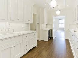 Floor To Ceiling Cabinets For Kitchen Pricey Pads Kitchens Trough Sink Polished Nickel Bridge