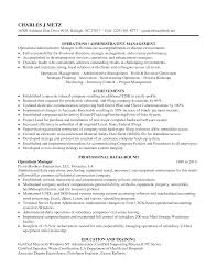 Plant Manager Resume Inventory Manager Resume Template Examples