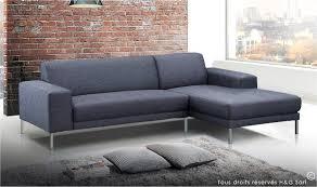 canapé design gris canape design en tissu