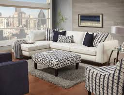 ottoman simple fusf rev sectional living room chair with ottoman