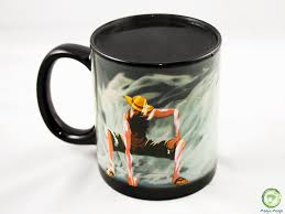 one piece mug monkey d luffy heat reactive color changing magic