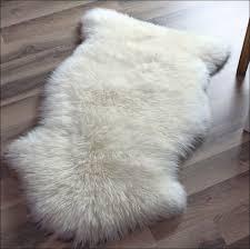furniture fabulous round faux fur rug faux mongolian fur rug
