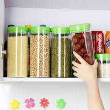 glass kitchen storage canisters buy transparent glass jars sealed cans canister milk cans jars of