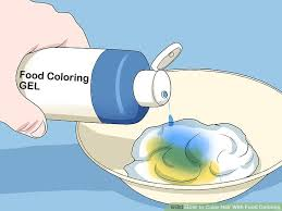 the best ways to color hair with food coloring wikihow